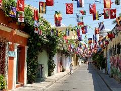 Flags of the world; Calle de la Sierpe