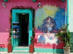 Love Cartagena's street art!