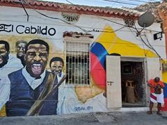 Street art; Calle La Magdalena