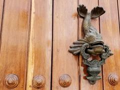 Fish door knocker