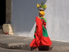 Palenquera, a symbol of Cartagena