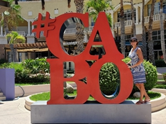 Cabo sign where everyone stops for a photo