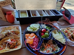 Our taxi driver recommended Tacos Guss and boy was it a great suggestion! We ate here every day in Cabo