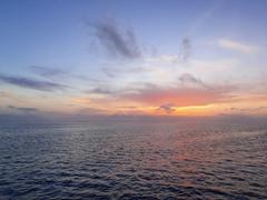 Glorious sunrise over Baja California