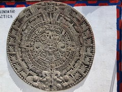 Aztec calendar; Ensenada