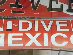 I dive Mexico!