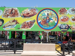 Fresh seafood restaurants galore by the malecon in Ensenada