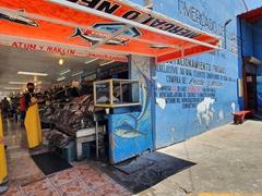 Ensenada's seafood market