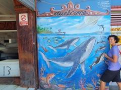 Seafood market murals