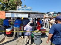 Don't miss the seafood at this street shack (El Güero) or the one next door (La Guerrerense)