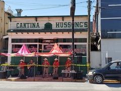 Hussong's Cantina is the oldest and best known cantina in all of Mexico, established in 1892. Unfortunately it was shut down during our visit due to coronavirus