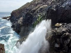 La Bufadora is considered a marine geyser