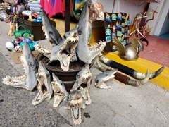 This is heartbreaking to see. Say NO to shark souvenirs!