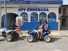 Exploring around with ATV Ensenada and our guide Carlos