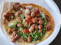 Yummy...tacos at Taqueria El Trailero