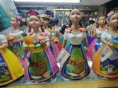 Souvenir dolls for sale; Ensenada