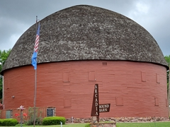 Arcadia Round Barn on historic Rt 66