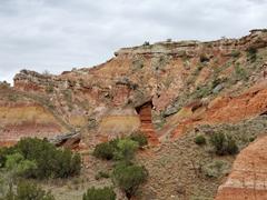 Hoodoo formations; Palo Duro Canyon