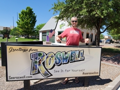 Greetings from Roswell!