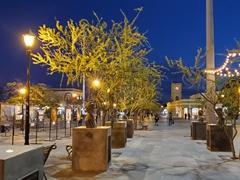 Statues in the main square of San Jose del Cabo