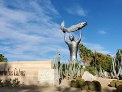 """Entrance to """"Puerto Los Cabos"""", a 2000 acre resort community"""