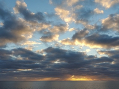 A spectacular sunrise in Socorro