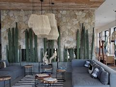 Interior view of Hotel El Ganzo