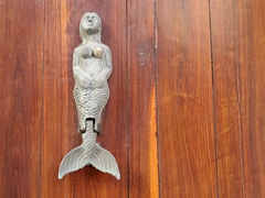Mermaid door knocker