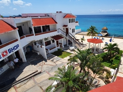 Our home for 10 days - Scuba Club Cozumel