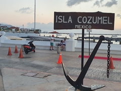 Isla Cozumel without the cruise ships is a pleasant experience