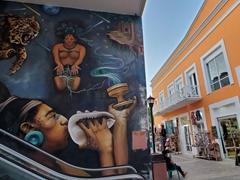 Massive wall mural