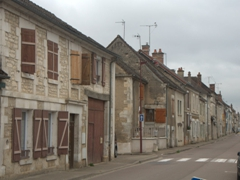 Main street in Vincelles