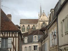We loved the architecture of pretty Auxerre