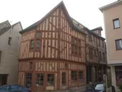 House of the Tree of Jesse, one of Joigny's most famous buildings
