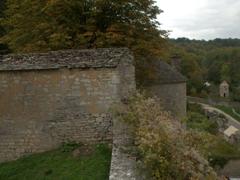 Stone ramparts of Noyers-sur-Serein