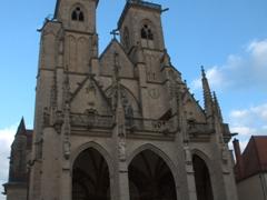 The Notre-Dame church; Semur-en-Auxois