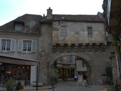 Entrance to Semur-en-Auxois' old city center