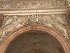 Decorative archway; Dijon