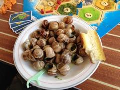 Escargot feast!