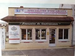 The world famous Maison Billot, specializing in escargot; Bassou