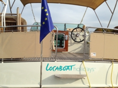 One of locaboat's wide beam boats