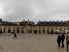 Panoramic view of Liberation Square (in front of Ducal Palace); Dijon
