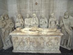 Interior of St. Jean Church; Joigny