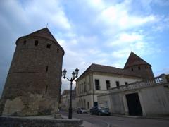 Towers of Semur-en-Auxois