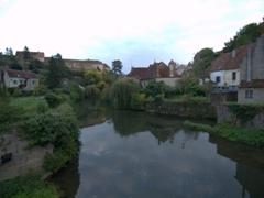 River scene in Semur-en-Auxois