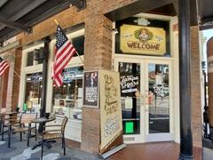 Cigar bar in Ybor, Tampa's historic latin quarter