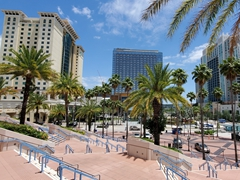View of Tampa from the convention center