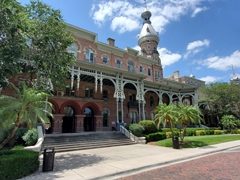 The Tampa Bay Hotel was a 511 room resort that opened in 1891. Today it houses a museum and the University of Tampa