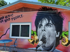 Mural spotted in Bradenton's Village of the Arts