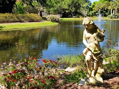 Statue at the Ringling Bayfront Garden